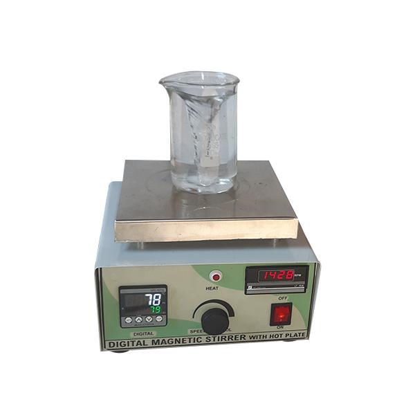 Digital Megnetic Stirrer With Hot Plate