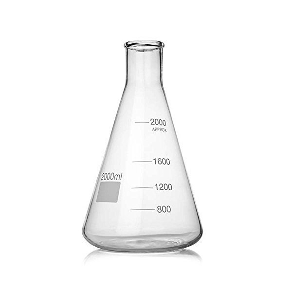 Conical Flask with Rim
