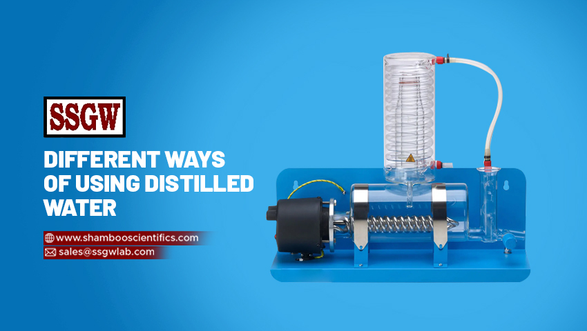 Different Ways of Using Distilled Water
